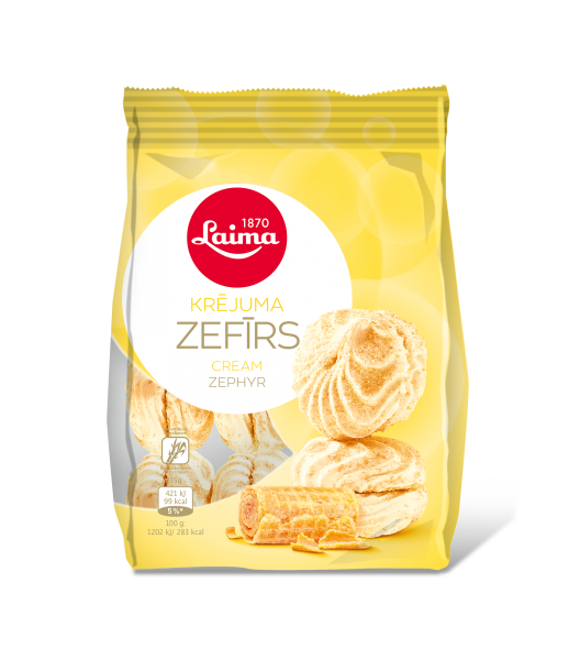 LAIMA ZEPHYR WITH CREAM FLAVOUR