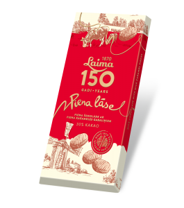 LAIMA MILK CHOCOLATE PIENA LĀSE