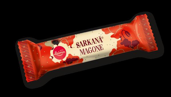 LAIMA CHOCOLATE BAR SARKANĀ MAGONE
