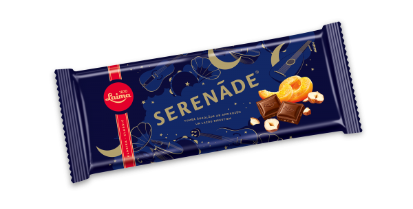LAIMA DARK CHOCOLATE SERENĀDE