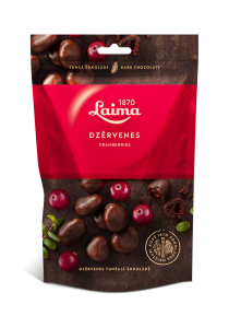 LAIMA CRANBERRIES IN DARK CHOCOLATE