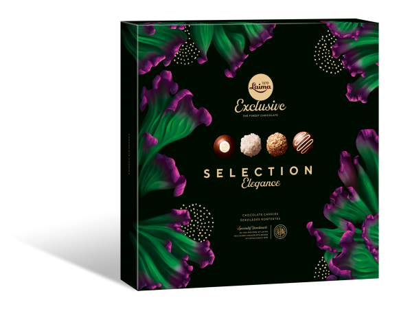 "LAIMA EXCLUSIVE CHOCOLATE CANDIES SELECTION ""ELEGANCE"""