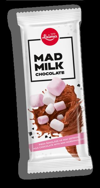 MAD MILK CHOCOLATE WITH MINI MARSHMALLOWS