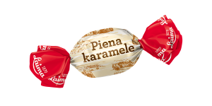 LAIMA HARD BOILED MILK CANDIES WITH FILLING