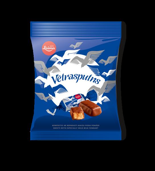 LAIMA CHOCOLATE CANDIES VĒTRASPUTNS