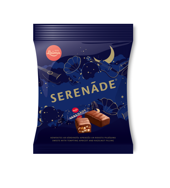 LAIMA CHOCOLATE CANDIES SERENĀDE