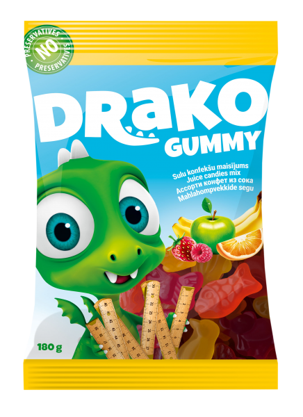DRAKO JUICE CANDIES MIX