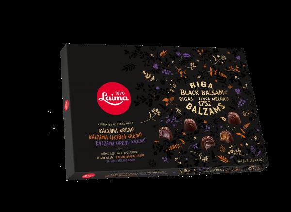 LAIMA RIGA BLACK BALSAM SELECTION OF CHOCOLATES
