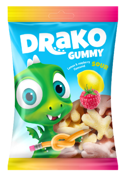 DRAKO SKĀBĀS ŽELEJAS KONFEKTES